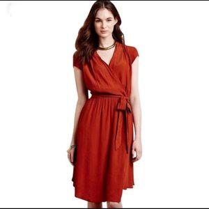 Anthropologie wrap dress